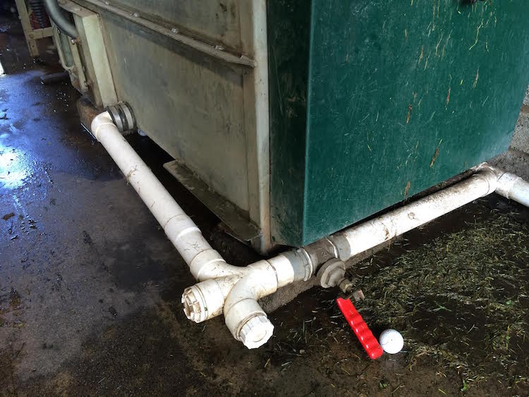 Ball Washer Broken Valve - Dublin Area Plumbers