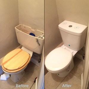 Dual Flush Close Coupled Toilet