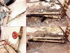 Hot Press Leak - Dublin Area Plumbers