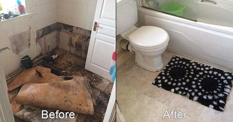 Bathroom Floor Replacement - Dublin Area Plumbers