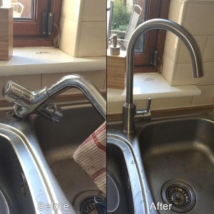 Kitchen Sink Tap - Dublin Area Plumbers
