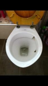 Toilet Replacement | Broken Toilet