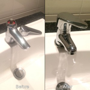 sink tap replacement